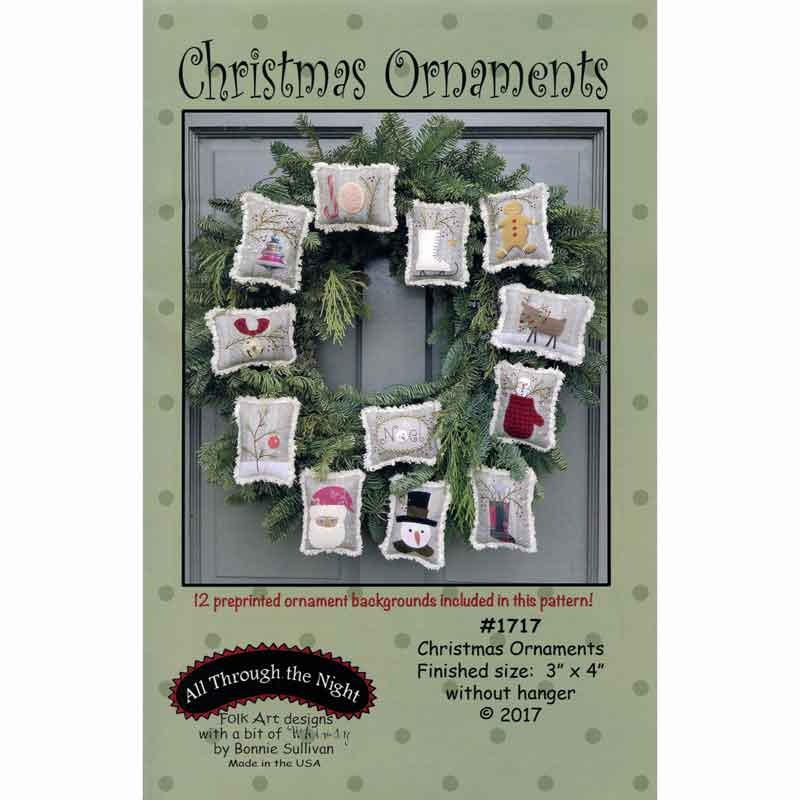 Christmas Ornaments Pattern - Bonnie Sullivan - All Through the ... : all through the night quilt patterns - Adamdwight.com