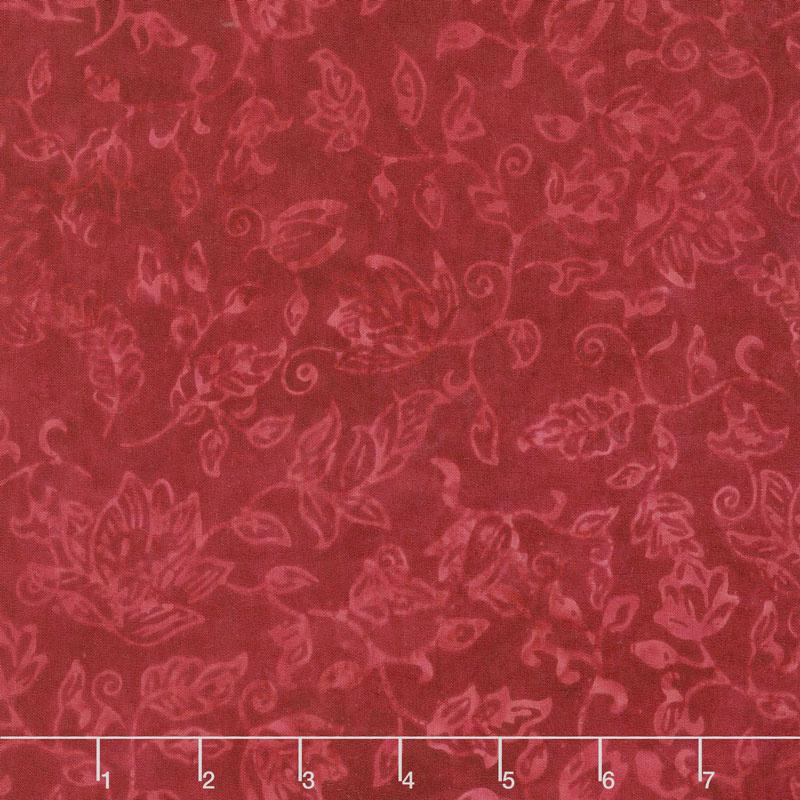 Tonga Batiks - United Vine Flowers Love Yardage