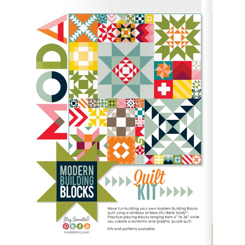 Modern Building Blocks Quilt Kit