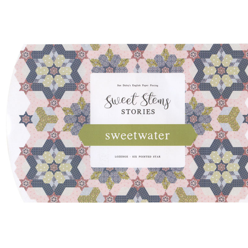 Sue Daley Sweetwater Pattern with Templates and Papers
