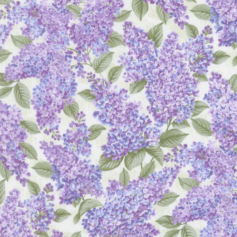 Lilacs in Bloom - Lilacs in Bloom Sage Yardage