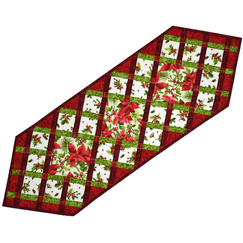 Christmas Ribbons Table Runner Kit