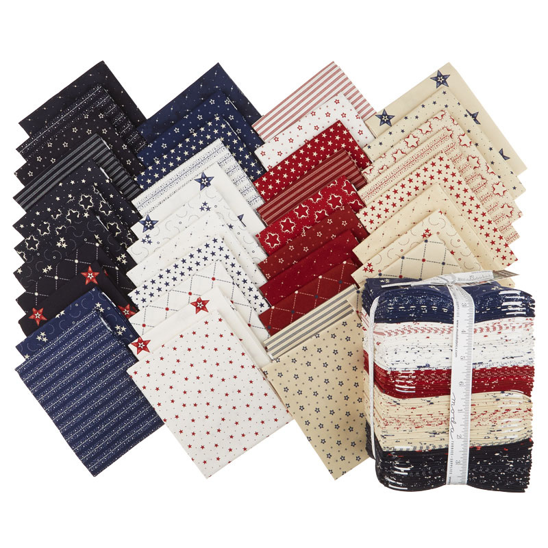 Star & Stripe Gatherings Fat Quarter Bundle