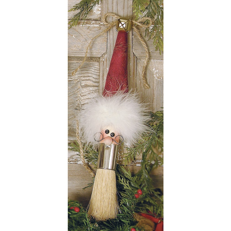 Bristle Beard Santa Kit - Round Brush