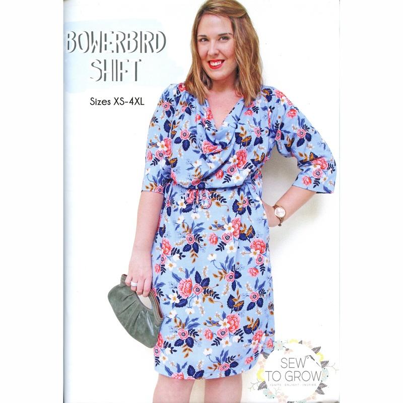 Bowerbird Shift Dress and Top Pattern
