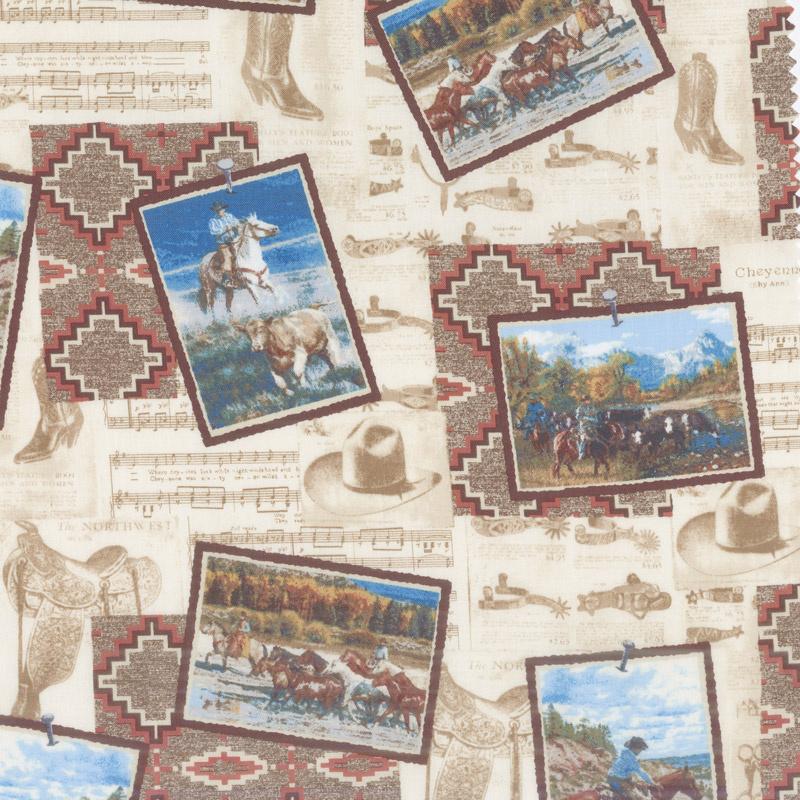 Mountain Pass - Postcards Multi Yardage