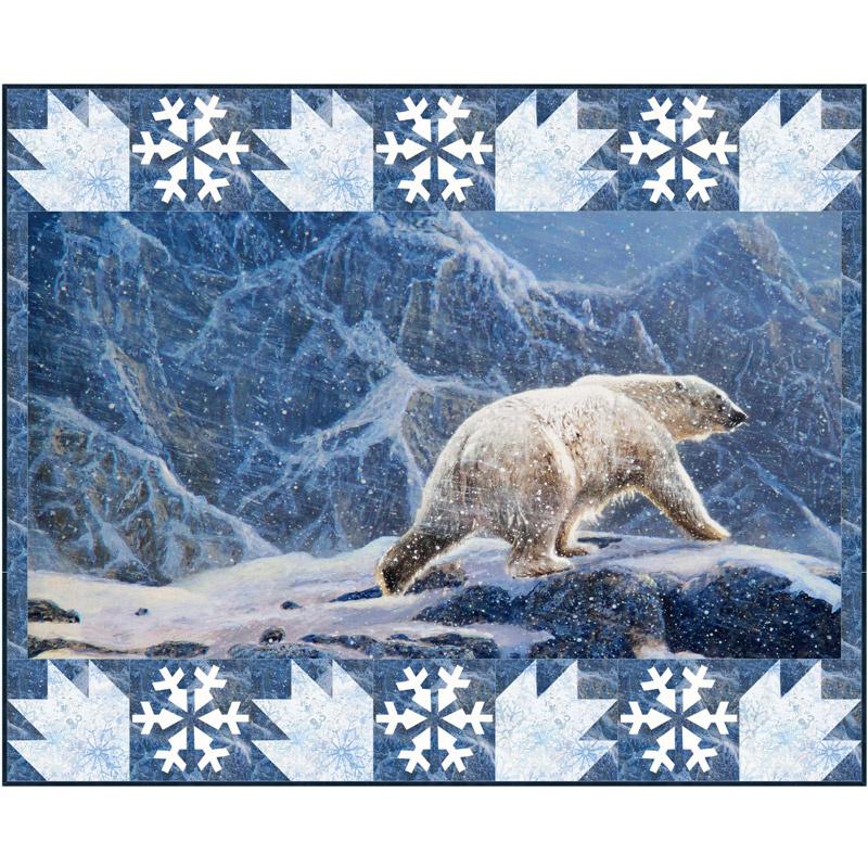 Snowy Polar Bear Kit
