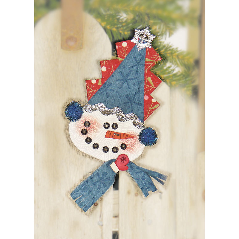 Snowman Peppermint Cheesecake Ornament Kit