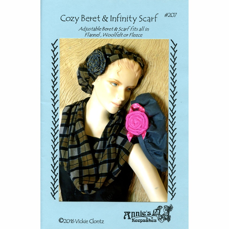 Cozy Beret & Infinity Scarf Pattern