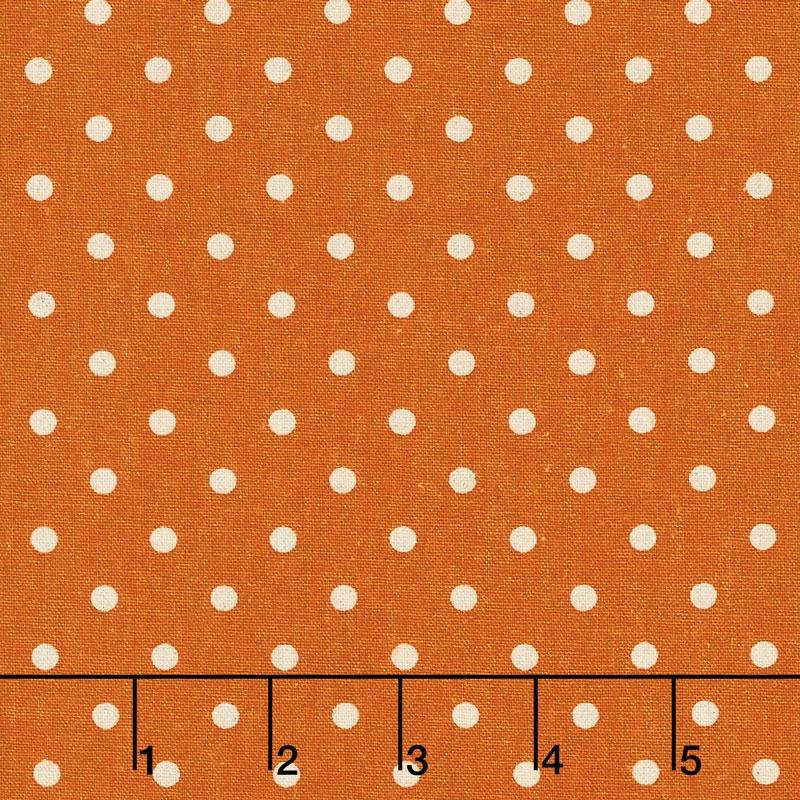 Linen Mochi Dot - Dot Longhorn Linen Yardage