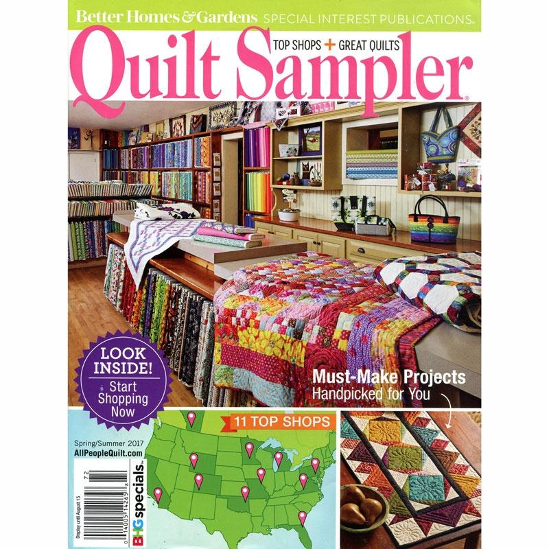 Better Homes And Gardens Quilt Sampler Spring