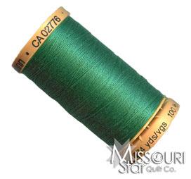 Gutermann 50 WT Cotton Thread Green