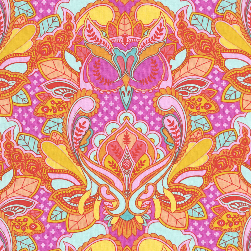 Tula Pink's All Stars - Owl Peony Yardage