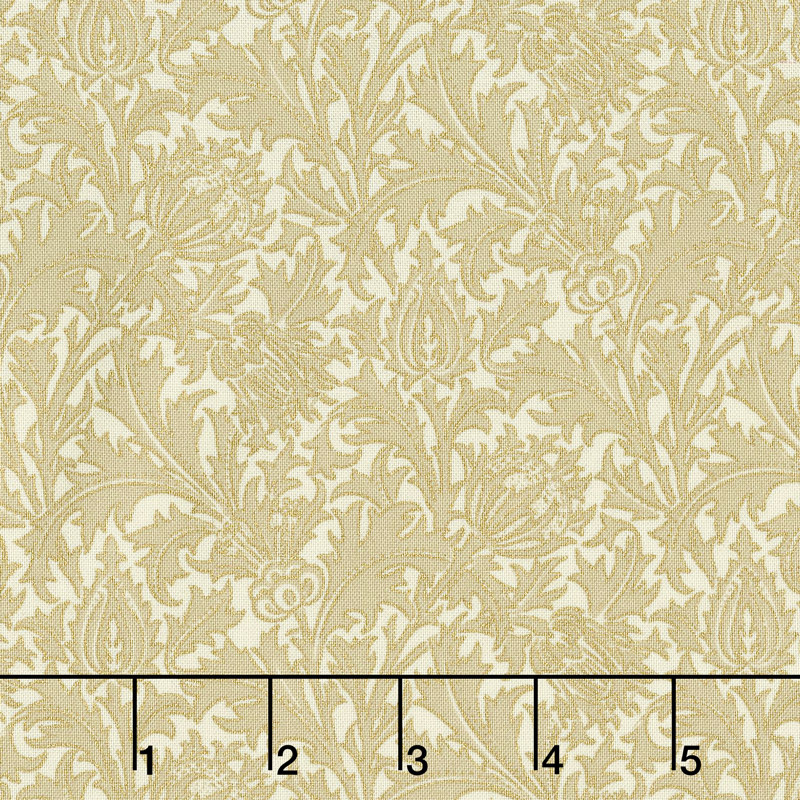Morris Holiday 1897 - Thistle Linen 108