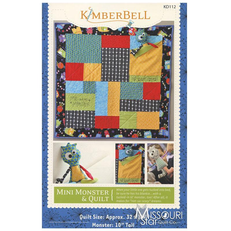 Mini Monster Quilt Pattern Kim Christopherson Of Kimberbell