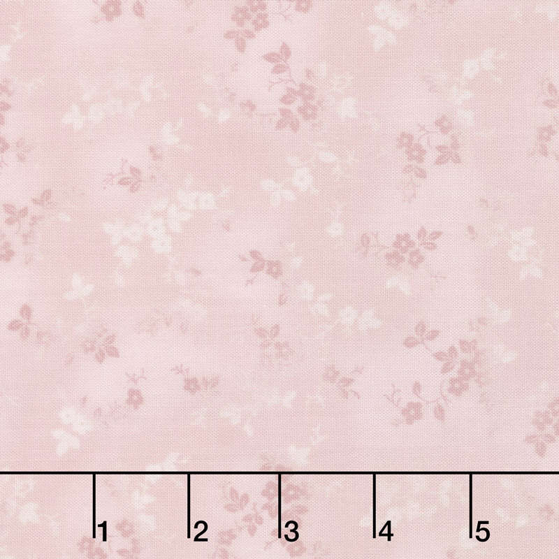 Woodside Blossom - Flowers Pink Yardage