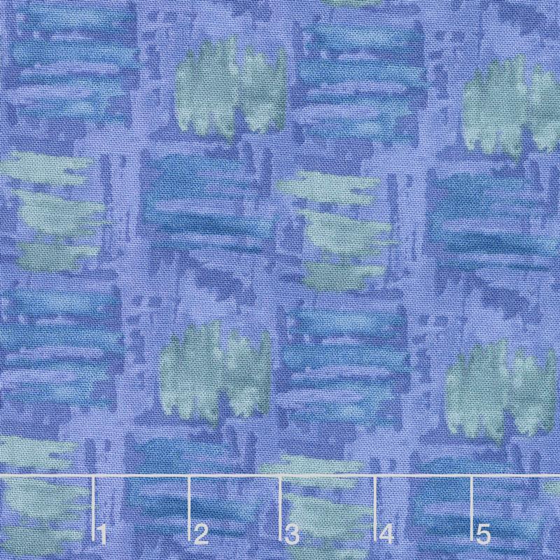 Tessellations - Abstract Squares Medium Purple Yardage