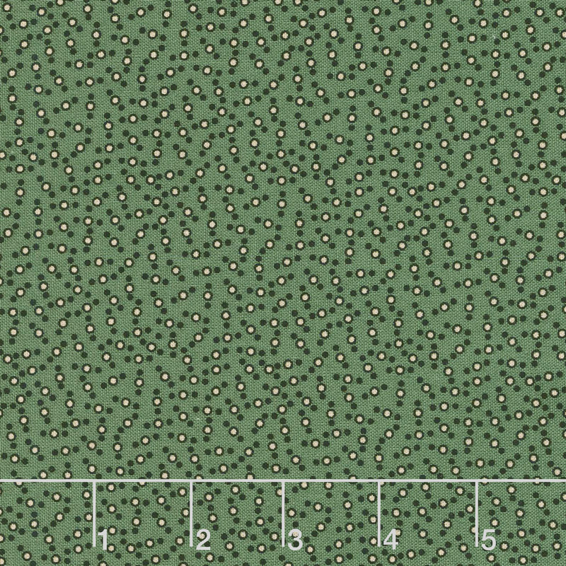 Baltimore House - Dots Green Yardage