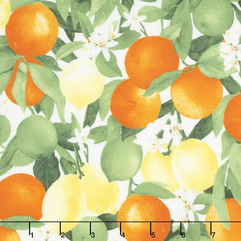 Ambrosia Farm - Citrus Grove Morning Light Fabric Yardage