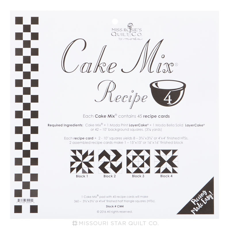 Miss Rosie S Quilt Co Cake Mix Recipe