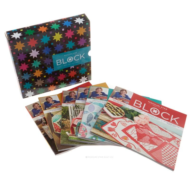 Missouri Star 2015 BLOCK Collector's Box Set