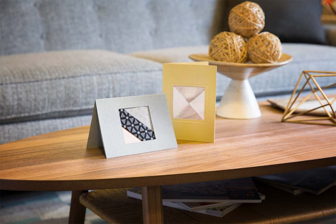 Carol Doak's Keepsake Frame Cards - Celebration Colors