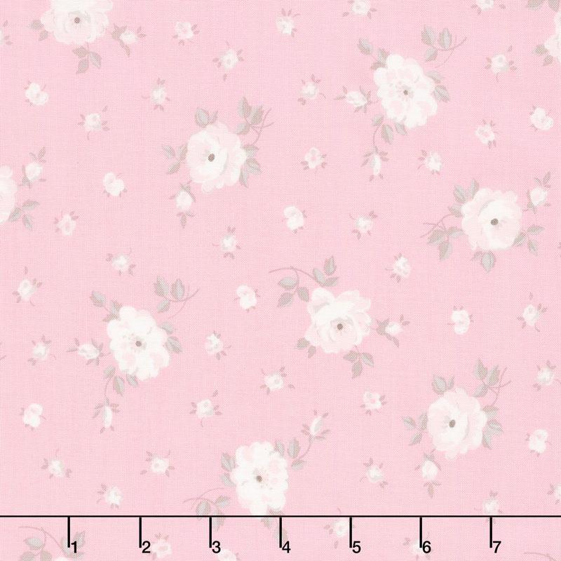 Rose Garden - Garden Pink Yardage