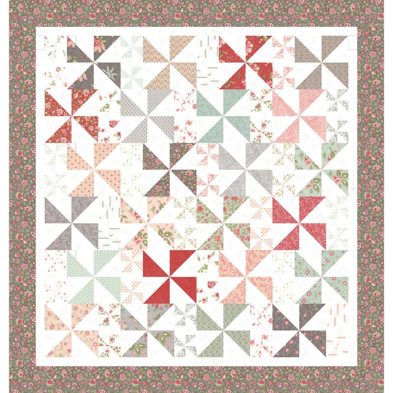 Missouri Star Porcelain Pinwheel Picnic Kit