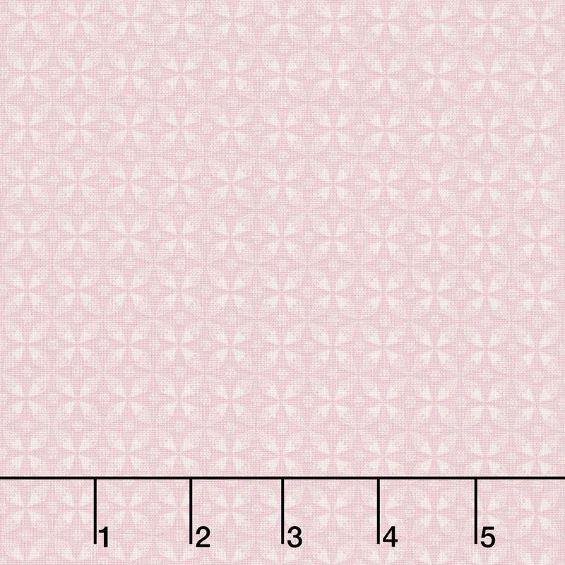 Rose Garden - Circle Pink Yardage