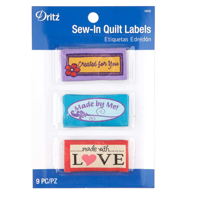 Sew-In Quilt Labels