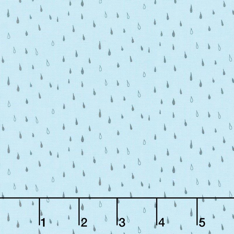 Abbie - Raindrop Aqua Yardage