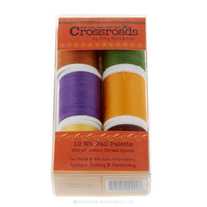 Sulky King Spools - Crossroads Denim - Fall Assortment - 6 Color