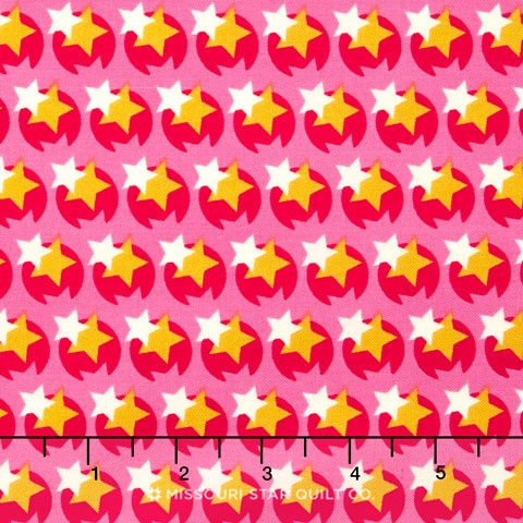 Hello Love - Pop Star Pink Yardage