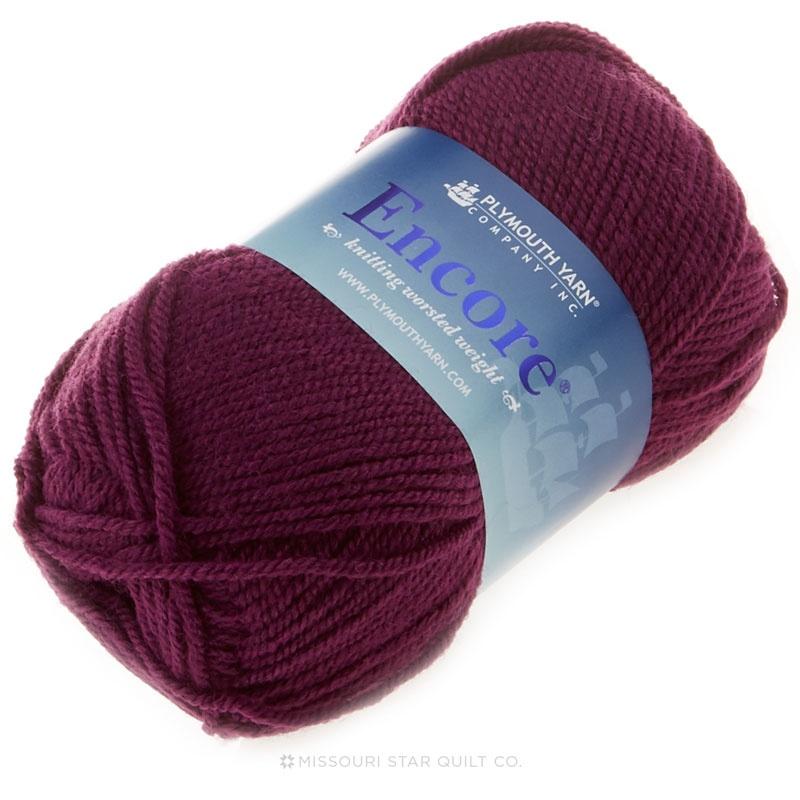 Encore Worsted Phlox Yarn 100g