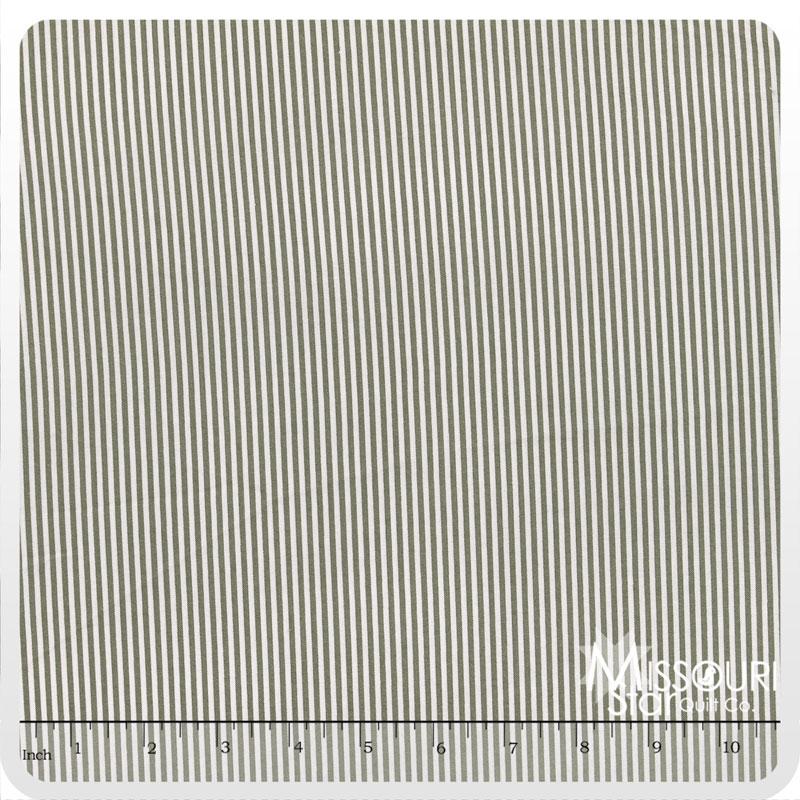 Lost and Found 2 - Stripe Gray Yardage