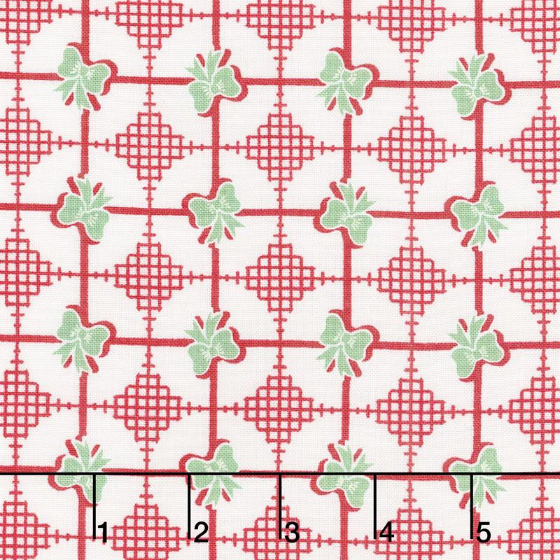 Sweet Christmas - Presents Peppermint Yardage