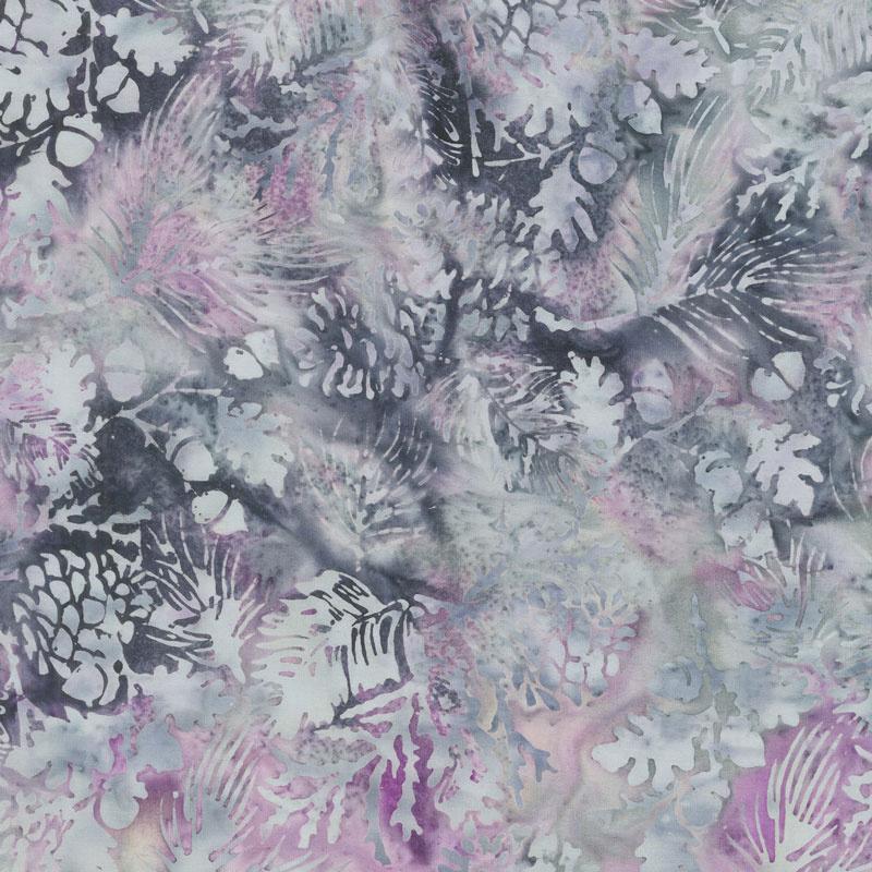 Snowberry Batiks - Pine Leaf Jelly Yardage