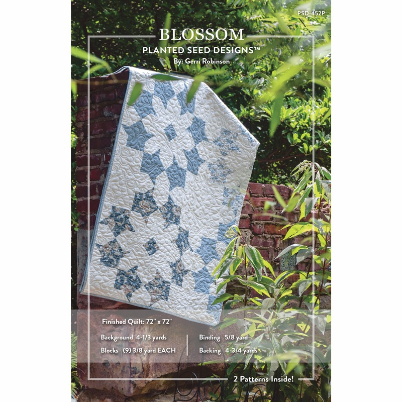 Blossom and Flower Patch Blossoms Pattern - Gerri Robinson of