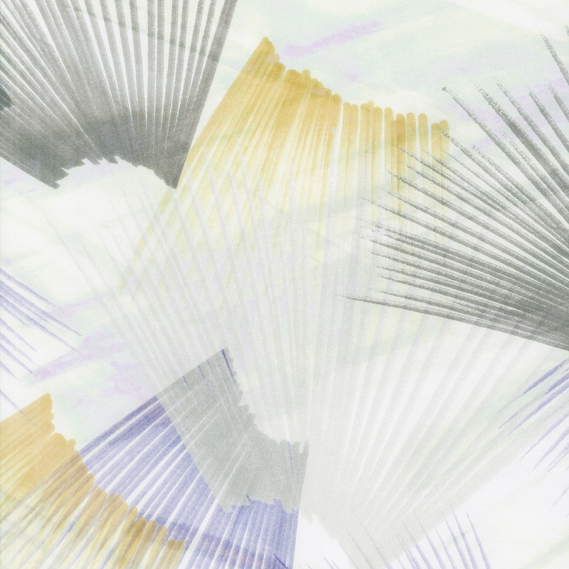 Plume - Feather Texture Light Neutral Digitally Printed 108