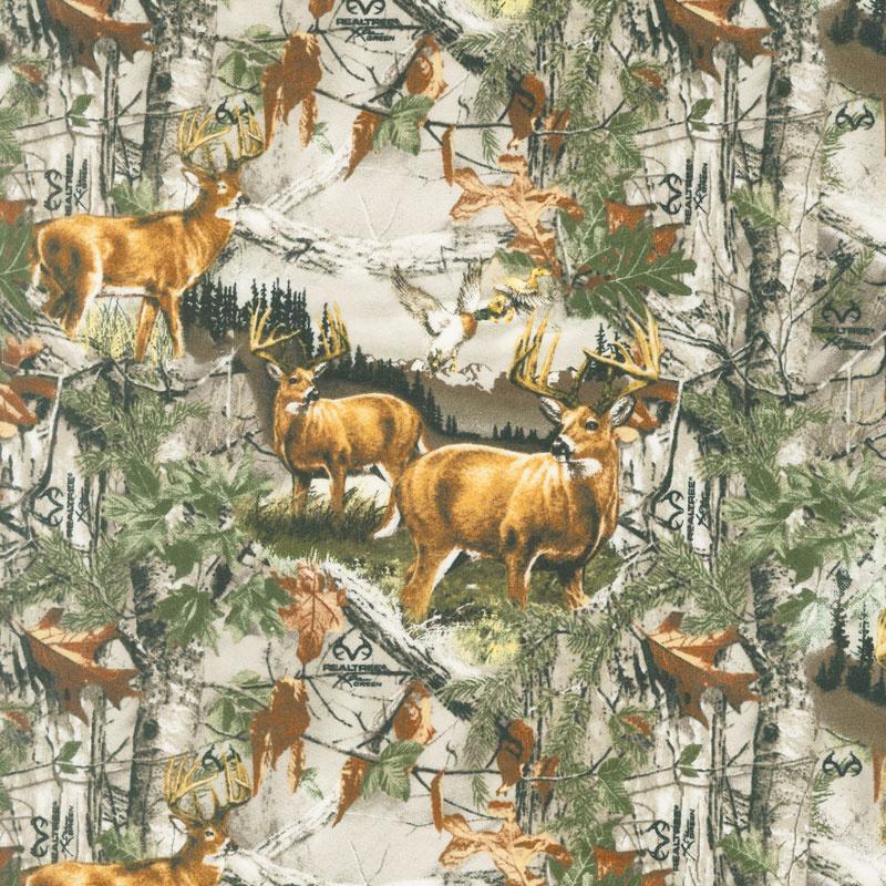 Realtree - Deer Country Allover Brown Yardage
