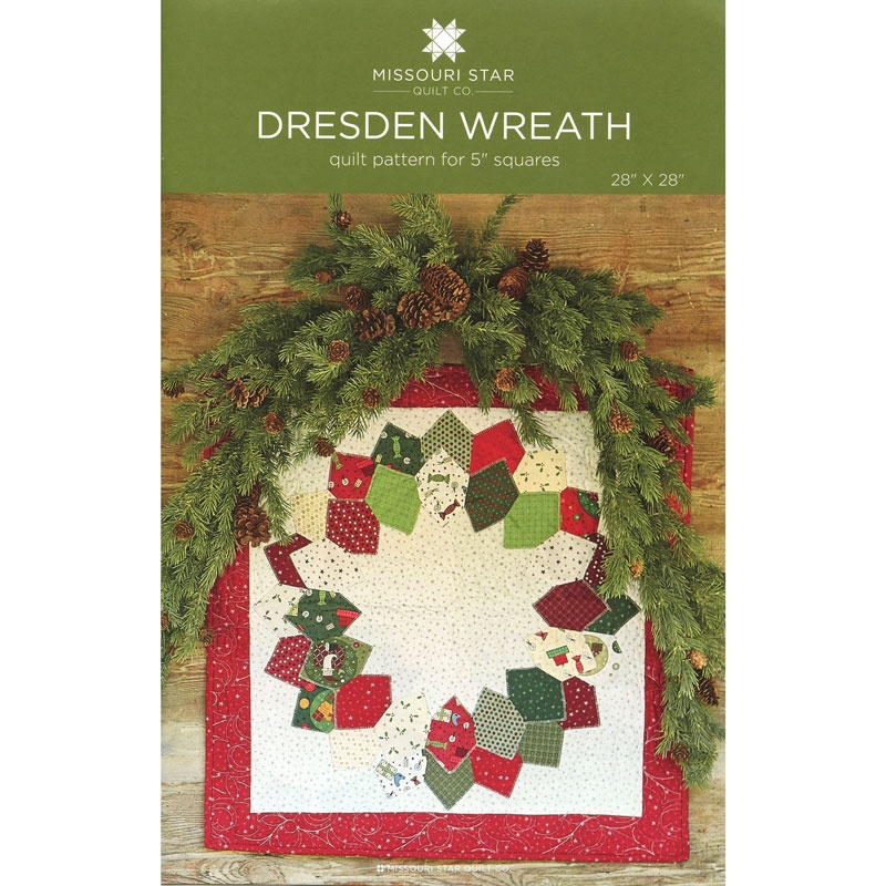 Dresden Wreath Wall Hanging Pattern By Missouri Star Missouri S