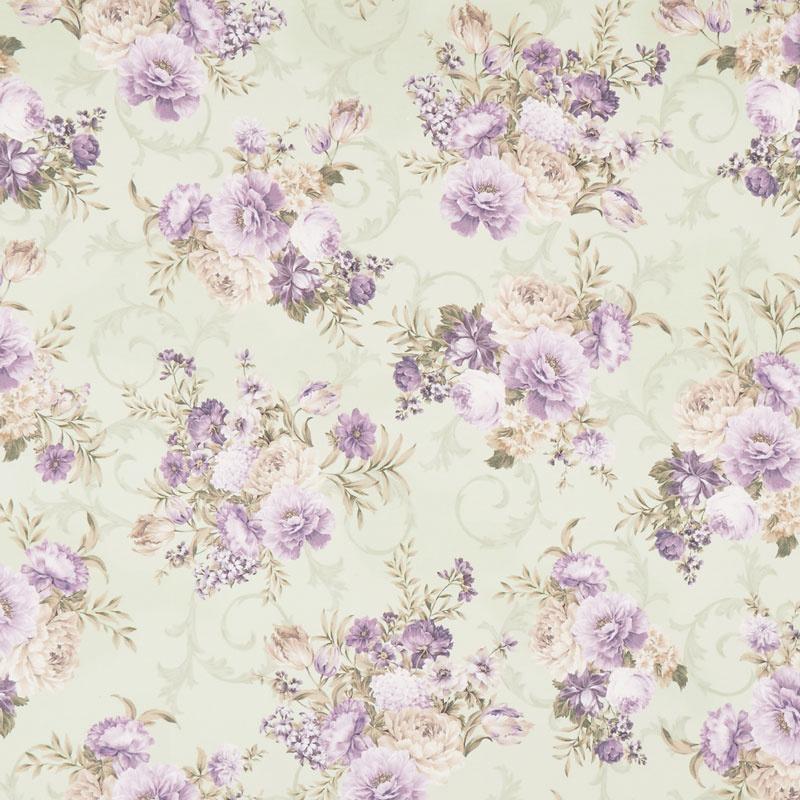 Meredith - Flowers Green Yardage
