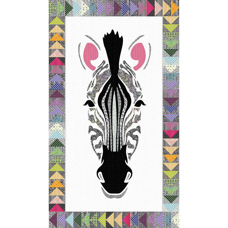 Zebra Stripes Laser Cut Quilt Kit