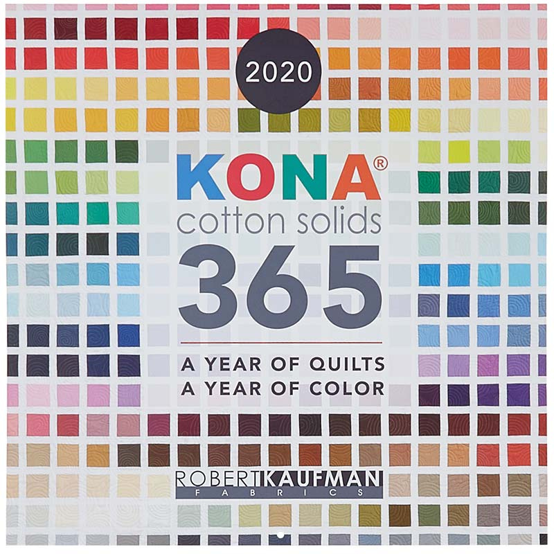 Kona Christmas Parade 2020 Kona® Cotton Solids 2020 Wall Calendar   Robert Kaufman