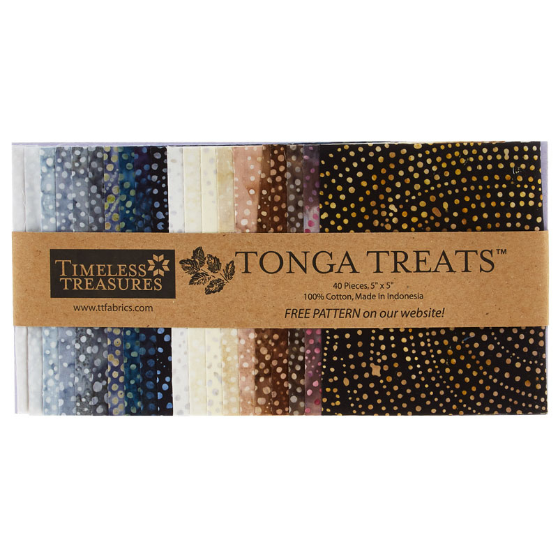 Tonga Treats Batiks - Colorwheel Earth Minis