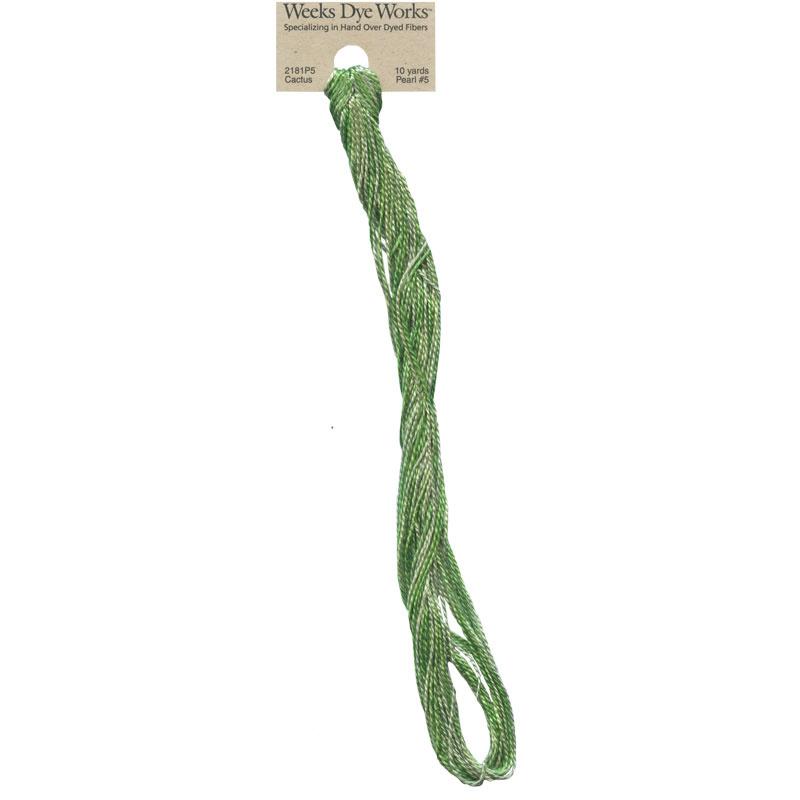 Weeks Dye Works Pearl Cotton #5 - Cactus