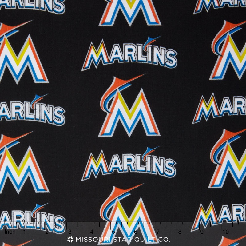 MLB - Miami Marlins Black Yardage
