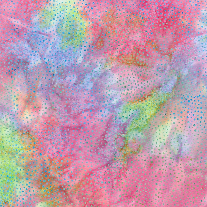 Abalone Batiks - Bubbles Snowcone Yardage