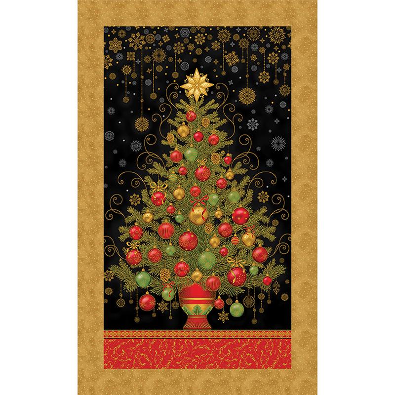 Holiday Flourish Christmas Tree Kit Ariga Mahmoudlou Robert Kaufman,Special Best Gift For Wife On Her Birthday