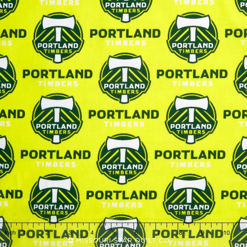 MLS Major League Soccer - Portland Timbers Yardage